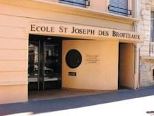 Ecole Saint Joseph des Brotteaux Entrée