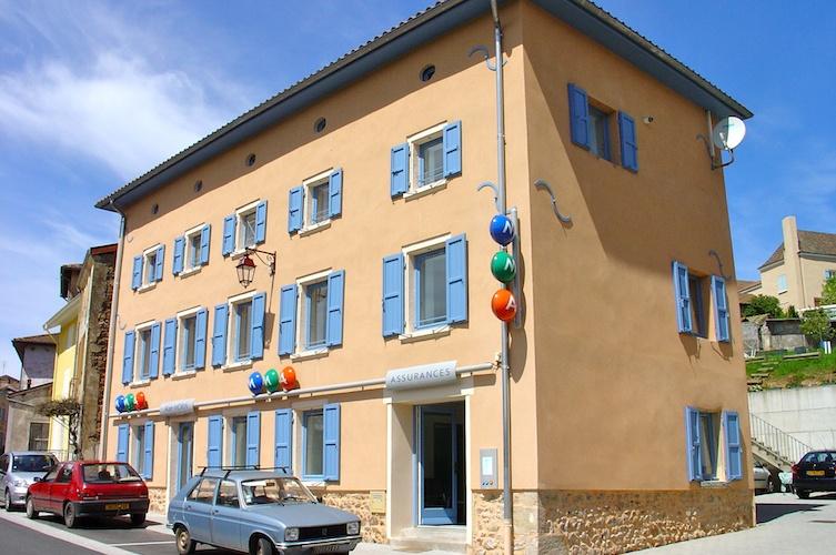 Saint-Igny-de-Vers façade