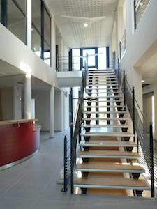 Siège social SODAC escalier