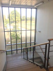 SOINS ET SANTÉ escalier