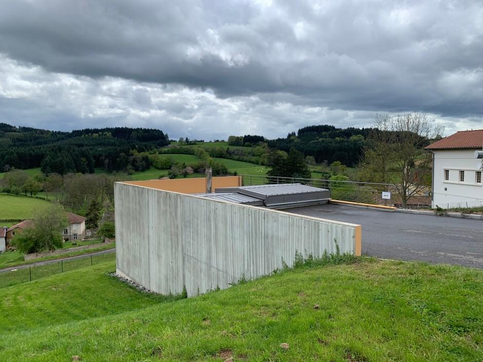 construction d'une chaufferie bois pour la commune
