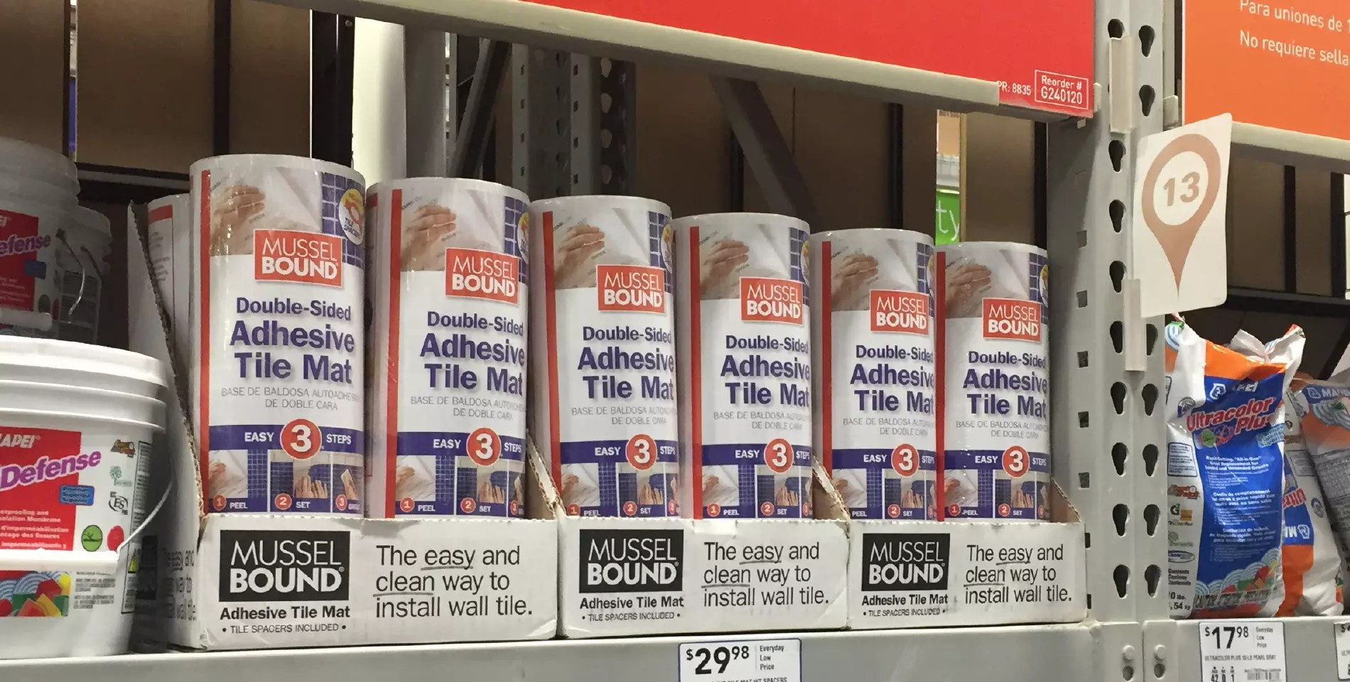 musselbound tile mat dodge associates