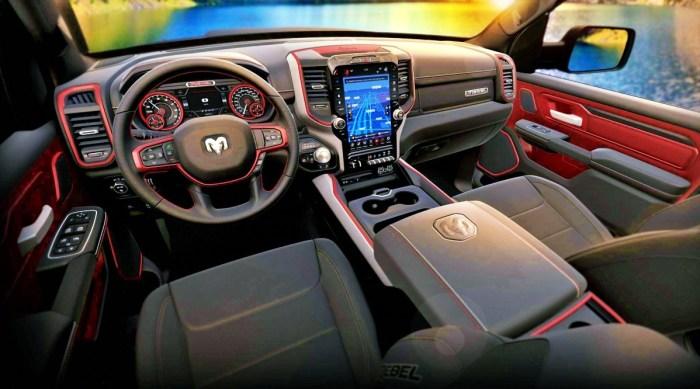 2022 Dodge RAM 1500 Rebel Interior