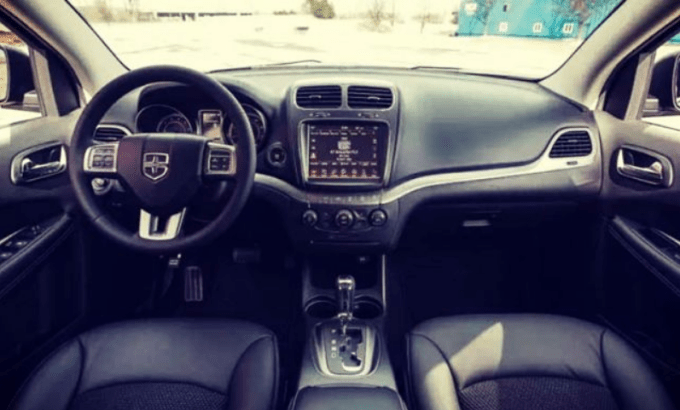 2019 Dodge Journey Colors Interior