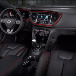 2021 Dodge Dart interior