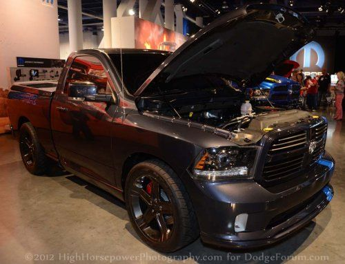Sema S Urban Ram Is The Srt8 That Fast Truck Lovers Want