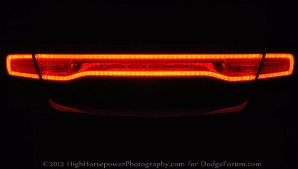 2014 Dodge Durango To Get Charger Quot Race Track Quot Tail Lights