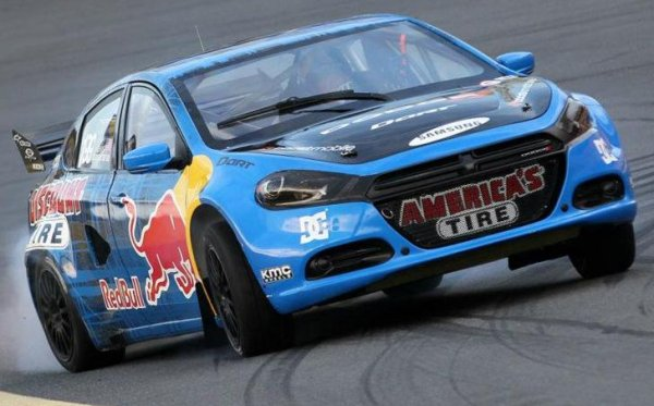 Dodge Dart rally car forced out of debut early by dirty driving ...