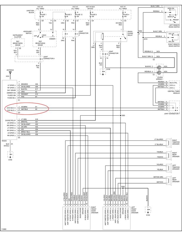 Wiring Diagram Dodge Dakota Radio