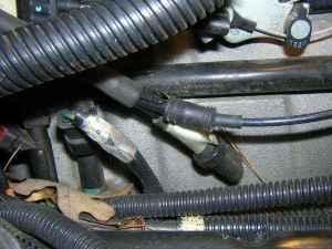 where does this vacuum line go?  DodgeForum