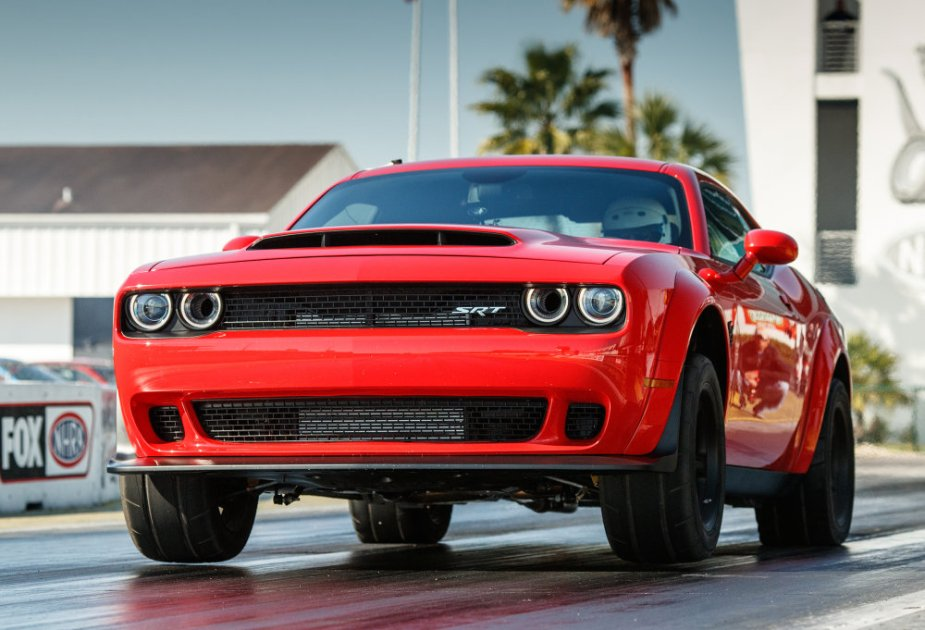 The 2018 Dodge Challenger SRT Demon