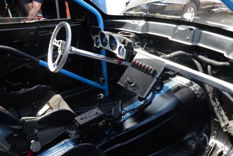 Greg Davies' Dodge Magnum Interior