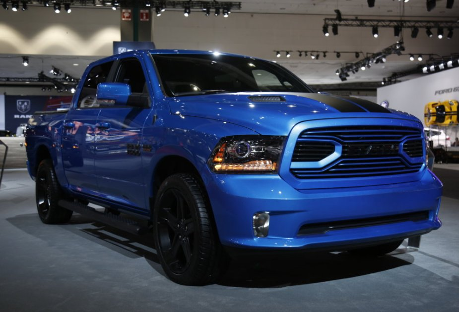 Hydro Blue Ram 1500