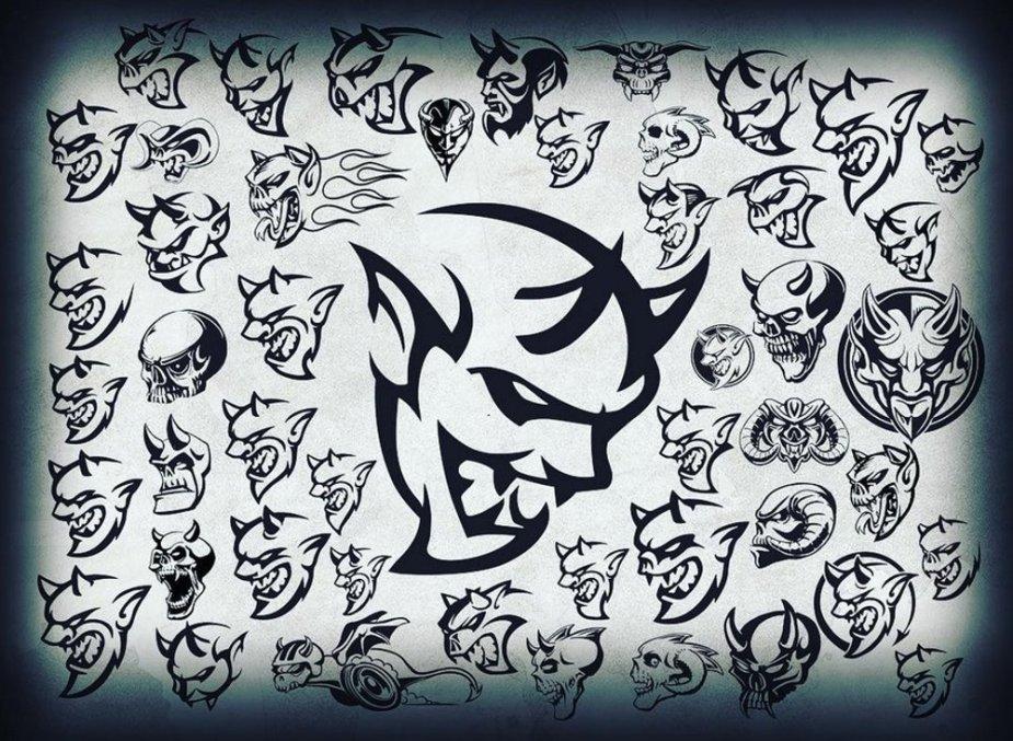 Dodge Demon Logos