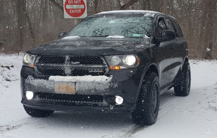 Durango with Nitto Tires in the Snow