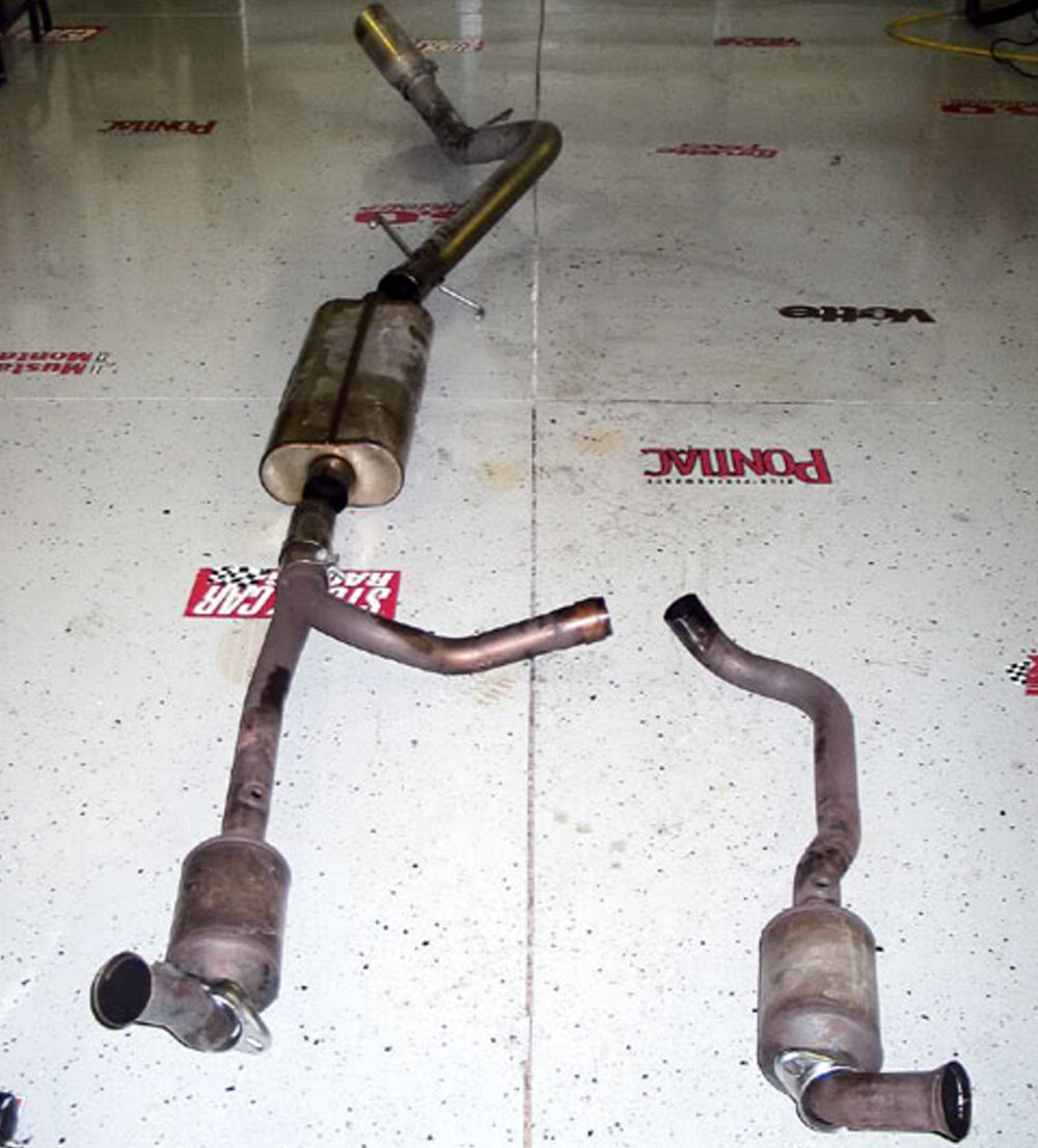 stock cats with long tube headers yes