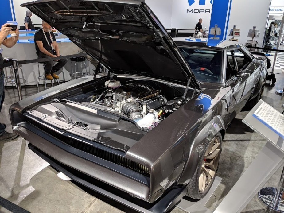 Holy Hades Dodge Introduces Hellephant Powered Super Charger