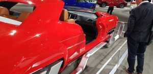 Dodge Challenger Hellcat RedEye Sleigh LA Auto Show