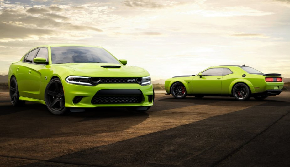 Sublime Dodge Challenger and Charger