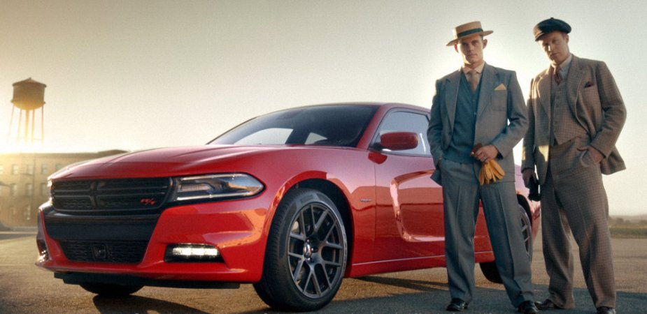 Dodge Charger with Actors