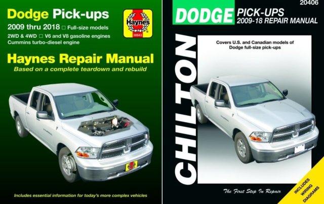 Dodge Ram Haynes and Chilton Manuals