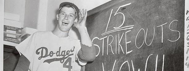 Karl Spooner major league debut