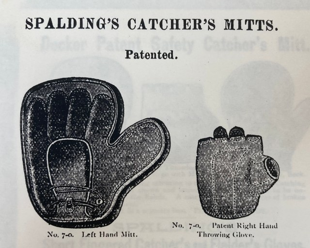 Mitt pad with throwing glove