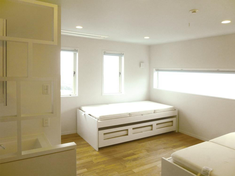 兵庫県南あわじ市・F邸別荘寝室