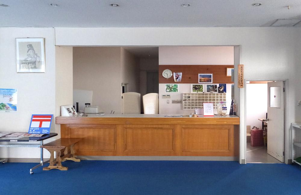 改装前のフロントの写真