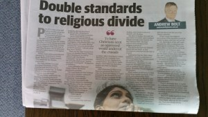 Double Standards to Religious Divide