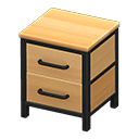 Ironwood Dresser (New Horizons) - Animal Crossing Wiki ... on Ironwood Animal Crossing  id=59557