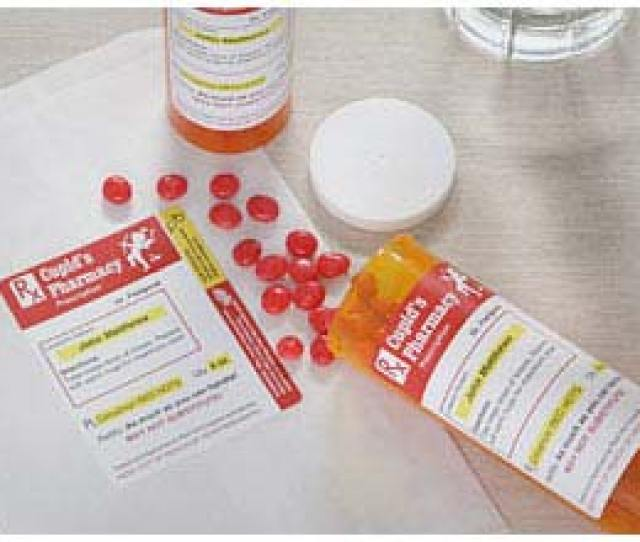 Prescription For Love Red Hots Candy