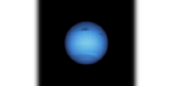 Neptune has changed the course of the mysterious dark spot and experts are confused