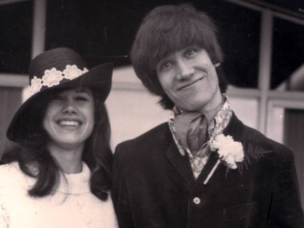 Former husband and wife, Wilko Johnson and Irene Knight.