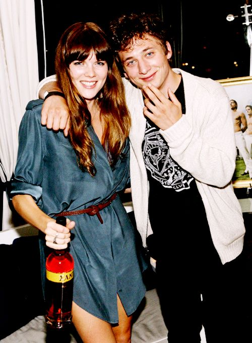 Allen White with Emma Greenwell