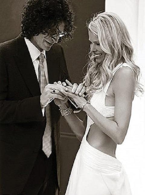 Howard with Beth Ostrosky