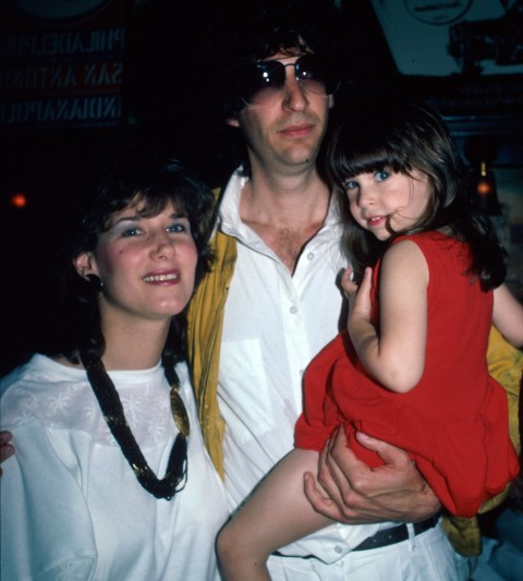 Howard with his daughter