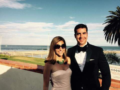 Noelle Watters and her husband Jesse Watters, Source: heavy.com