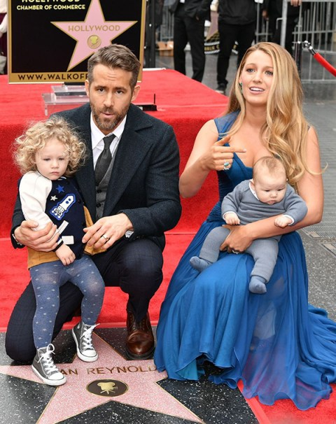 Ryan and Blake with their children