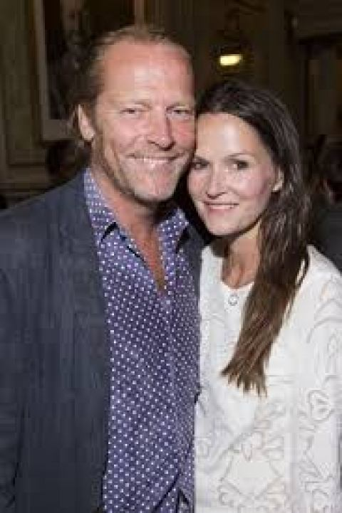 Game of Thrones actor, Iain Glen and his spouse, Charlotte Emmerson