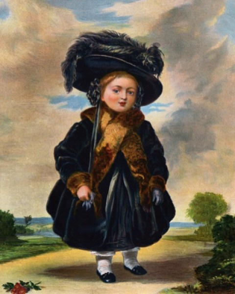 Victoria as a child