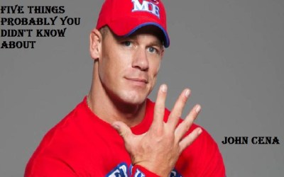 Five Facts about John Cena