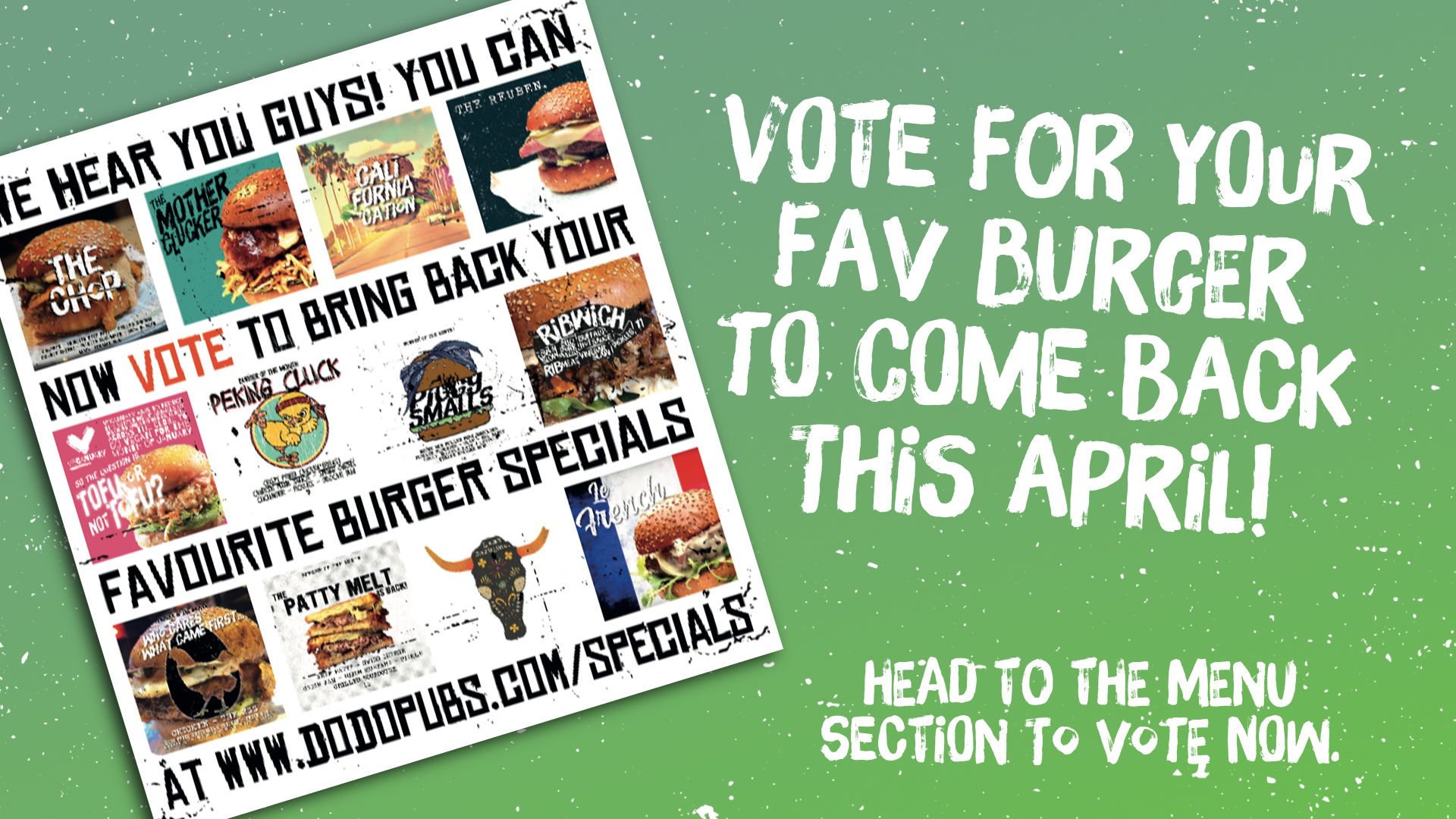 vote for ur fav burger banner 2