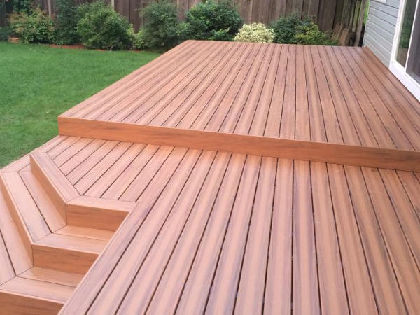 Armadillo Composite Decking (Painted Desert)