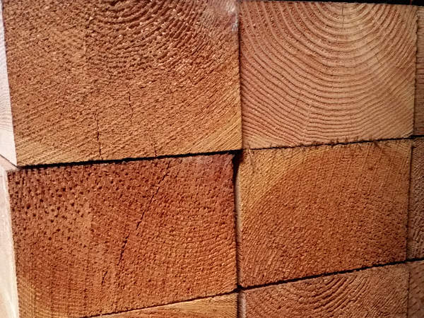 Rough Doug Fir Timbers