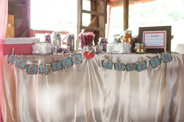 Barn Wedding Decor Ideas at Dodson Orchards