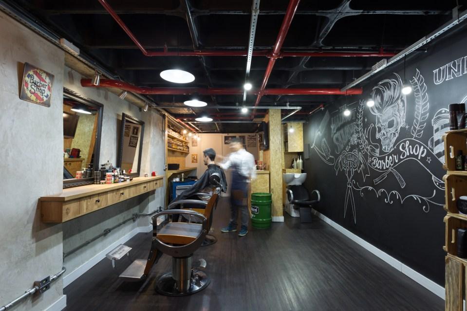 Decoração S.A.: Uma barbearia com muita mão na massa