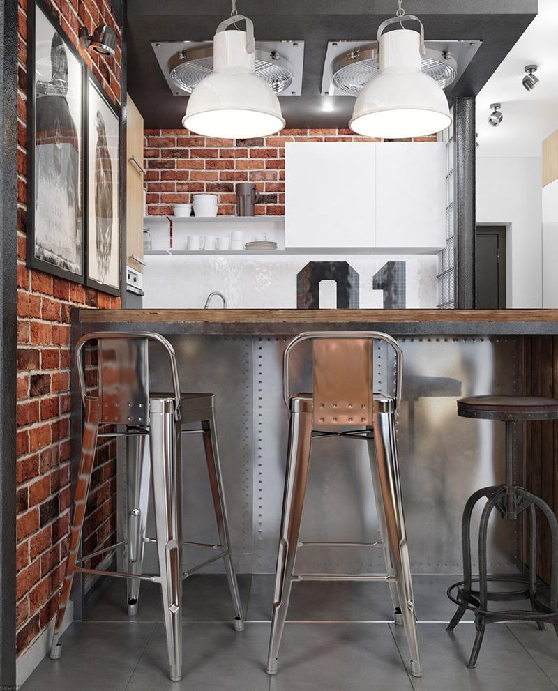 cozinha industrial bancada