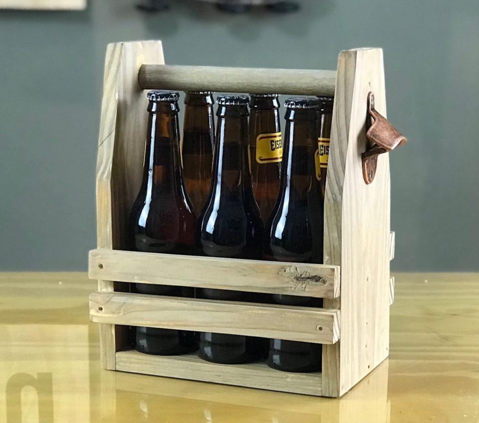 DIY para fazer no feriado engradado de cerveja