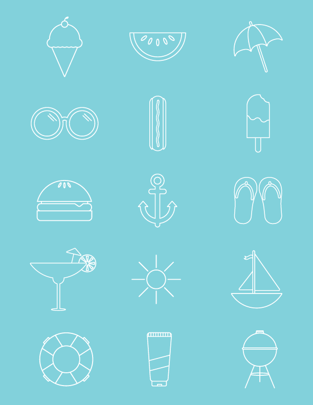 summer-icons
